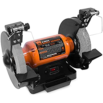 Wen 4282 4 8 Amp 8 Quot Bench Grinder With Led Work Lights And
