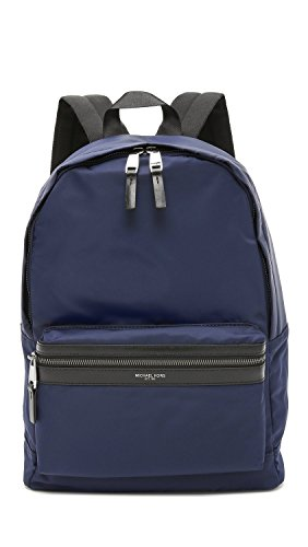 Michael Kors Men's Kent Nylon Backpack, Indigo, One - Kors Online Michael Usa