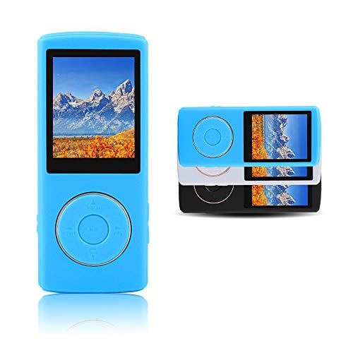 Ultrave Portable 8GB MP3 Player MP4 Player Hi-Fi Sound Music Player (Blue008)