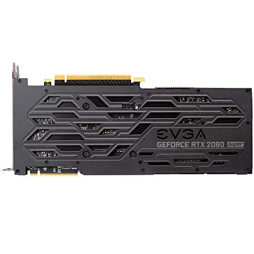 EVGA 08G-P4-3182-KR GeForce RTX 2080 Super XC Gaming, 8GB GDDR6, RGB LED, Metal Backplate