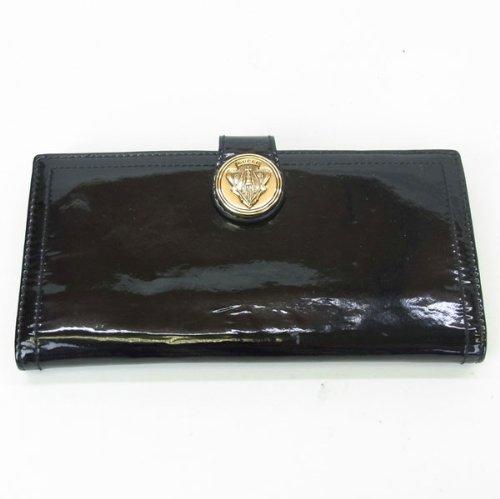 グッチ エナメル 長財布(ホック式小銭入れ付き) 190350
