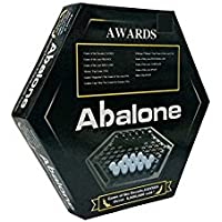 Akrobo Abalone MINI Black and White Marbles Board Game for Family & Friends - 23 cm Board Game