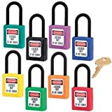 """Product review for Plastic Master Lock® Dielectric Thermoplastic Safety Padlock - Keyed Different - 1-3/4""""h x 1-1/2""""w, Purple DANGER - LOCKED OUT DO NOT REMOVE"""