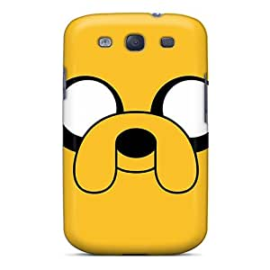 New Hard Cases Premium Galaxy S3 Skin Cases Covers(adventure Time Jake)