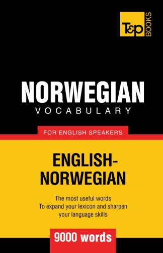 Norwegian vocabulary for English speakers - 9000 words