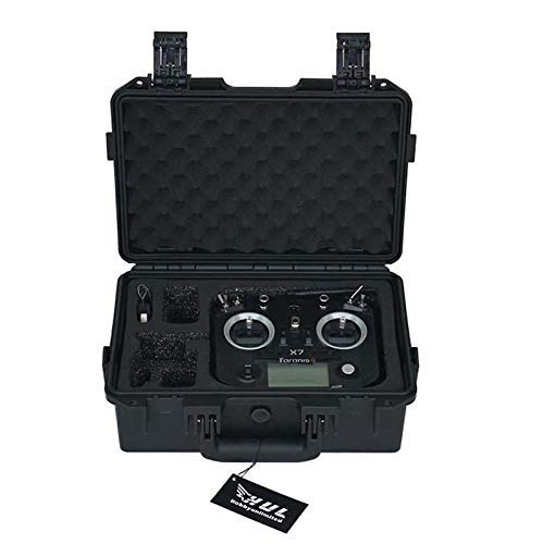HUL Military Spec RC Transmitter Case for FrSky Taranis Q X7 X7S ()