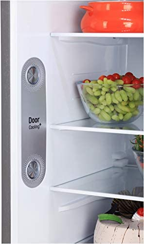 LG 284L 3 Star Smart Inverter Frost-Free Double Door Refrigerator (GL-T302RPZX, Shiny Steel, Convertible), grey, large