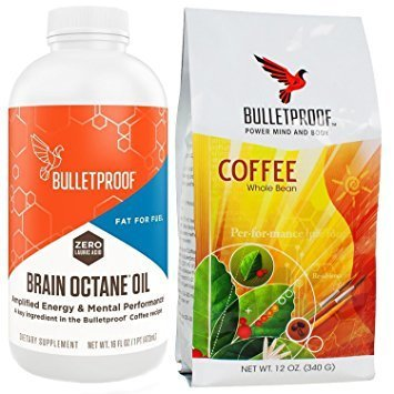 Bulletproof Upgraded Coffee 12 OZ - Intellect Octane Edition 16 fl OZ, Starter Kit