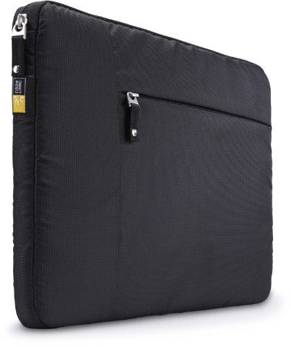 Case Logic Sleeve for 15.6-Inch Laptops - Black (TS-115BLACK)