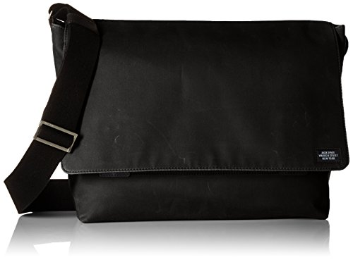 Jack Spade Men's Waxwear Field Messenger, black for sale  Delivered anywhere in USA