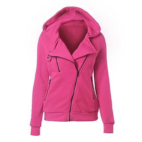 Cystyle - Sudadera con capucha - para mujer Rosa