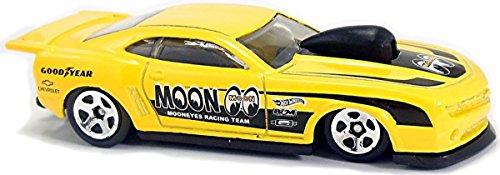 Hot Wheels 2018 50th Anniversary HW Speed Graphics '10 Pro Stock Camaro 105/365, Yellow