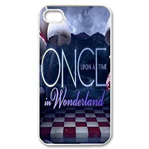 LSQDIY(R) Once upon a time iPhone 4,4G,4S Plastic Case, Personalised iPhone 4,4G,4S Case Once upon a time