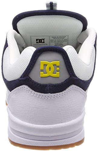 Grey DC Kalis Uomo Lite Blanco Sneaker Scarpe Bianco Wyy Yellow Wyy White r4zxwTrqC