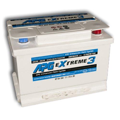 APG XET605 Extreme 3 - Batteria auto, 65Ah TBP Yuasa