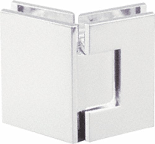 CRL Geneva 045 Series Brushed Nickel 135176; Glass-to-Glass Hinges
