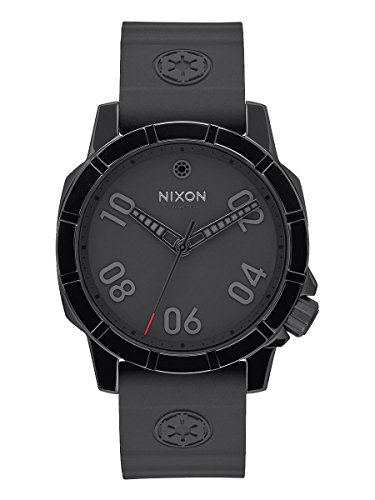 Nixon - Ranger 40 - Star Wars Imperial Pilot Collector's Edition - Black Stainless Steel Watch - -
