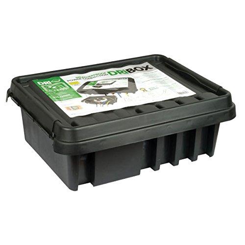 SockitBoX Dri-box 330 Outdoor Waterproof/Weatherproof Box- Black Sockit Box FL-1859-330