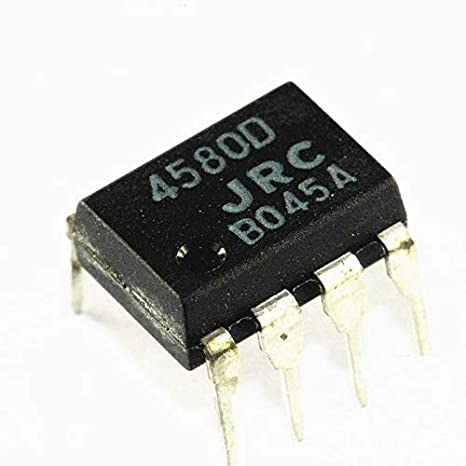 Amazon.com: HONWEN 10PCS IC JRC DIP-8 JRC4580D JRC4580 ...