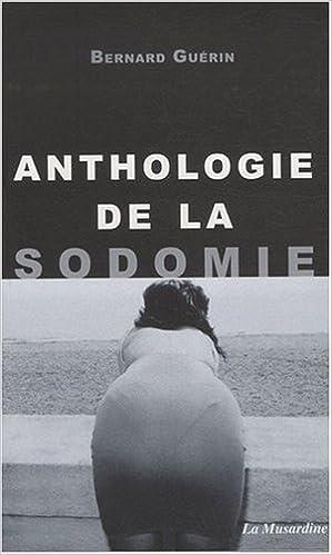 Lire Anthologie de la sodomie pdf ebook