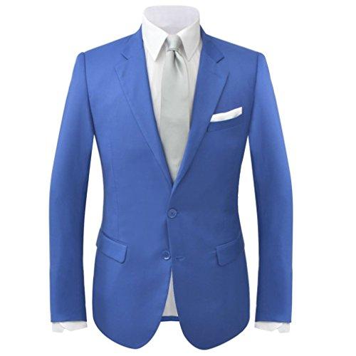 46 Bello Semplice Uomo Blu Abito Taglia ColoreRealeTaglia Da 2 E Xingshuoonline Pz Reale Elegante oxWECdBQre