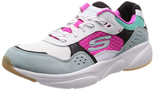 Mujer white Multicolor Multi Wmlt Zapatillas charted Para Meridian Skechers 1xYI7XY