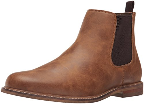 Call It Spring Men's Raynna Chelsea Boot, Cognac, 10 D US