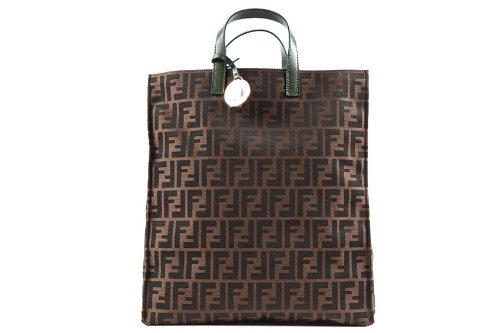 c8a4449267 Fendi borsa donna a mano in cotone special shopping verde  Cod:8BH17300D14F0XYX: Amazon.it: Scarpe e borse