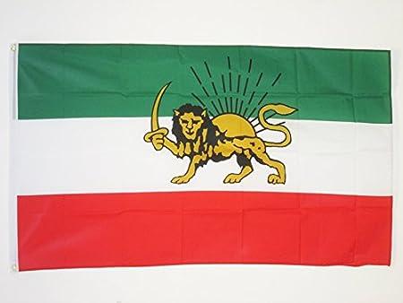 AZ FLAG Bandera IRÁN Antigua Persia 90x60cm - Bandera IRANÍ ...
