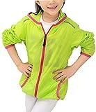 Alafen Unisex Child Kids Quick Dry Lightweight UV-Resistant Windbreaker Jacket XX-Large Green