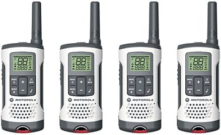 Motorola Talkabout T280 Rechargeable Two-Way Radio, 4 Pack