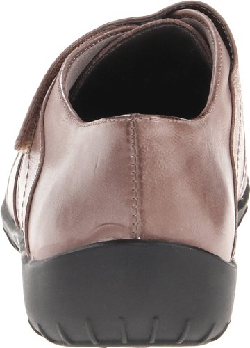Walking Cradles Mujeres Cone Flat Taupe Leather