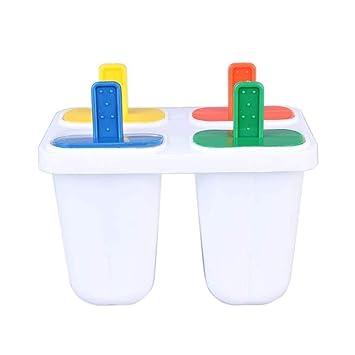 Kefaith Molde para Hielo Ice Pop Pop Cube Purés de Pudín Molde de Silicona Herramienta de