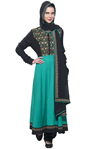 East Kleid Turquoise xxxxxl amp; Black Mehrfarbig Durchgehend Damen Gr Essence rEfrqwF