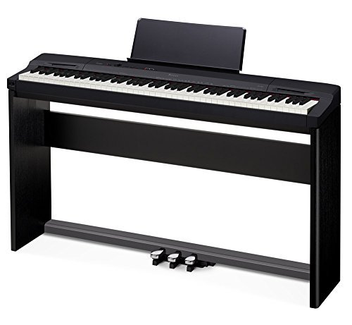 Casio Privia PX-160 Digital Piano With Stand AND Pedals- Black