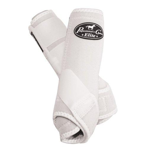 Professional's Choice Equine Sports Medicine Ventech Elite Leg Boot Value Pack, Set of 4 B003SZYTZQ Small|White