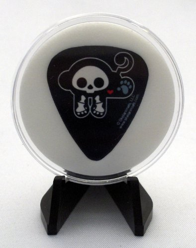Skelanimals Marcy The Monkey Guitar Pick With MADE IN USA Display Case & Easel (Marcy Skelanimals Monkey)