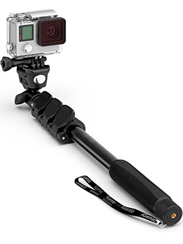 Professional 10-In-1 GoPro Selfie Stick Monopod For Go Pro Hero, Action Cameras, Cell Phones, Digital Compacts -...