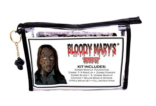 Bloody Mary Zombie Professional Undead Makeup Kit : Beauty Store