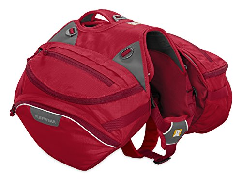 Ruffwear - Palisades Multi-Day Backcountry Pack for Dogs, Red Currant (2017), Medium by Ruffwear
