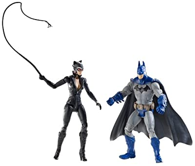 Dc Batman Legacy Edition Series 2 Action Figure 2pack Batman Catwoman Full Color Arkham City by Mattel