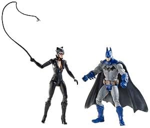 DC Batman legado edición serie 2 acción figura 2Pack Batman Catwoman FULL COLOR Arkham ciudad