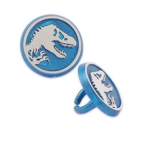 Jurassic World Dinosaur Cupcake Rings - 24 pc by Bakery Supp