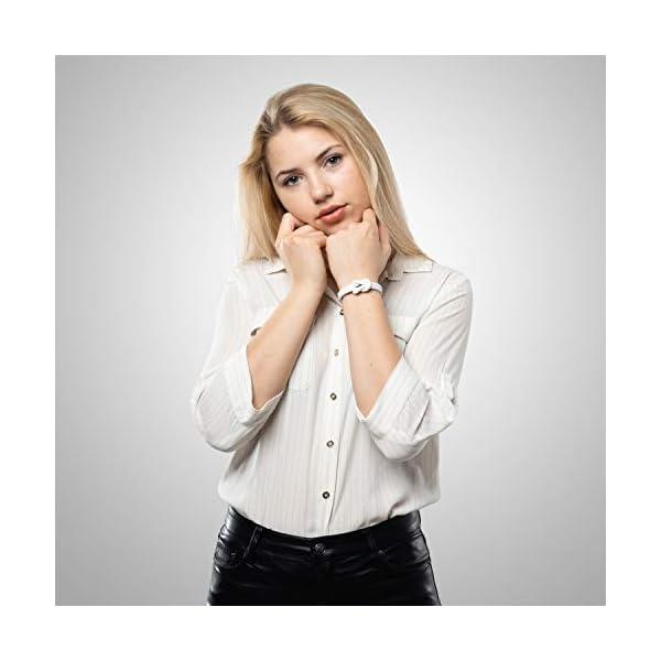 SERASAR | Braccialetti in Pelle per Donna | Diversi Colori e Lunghezze | Serratura Magnetica in Acciaio Inossidabile | Scatola di Gioielli Esclusiva | Ottima Idea Regalo