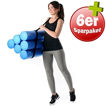 Kawanyo 90 cm Rodillo de Pilates Yoga Gimnasia Fitness ...