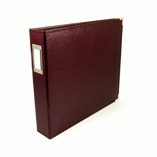 We R Memory Keepers 40341-8 Classic Leather 3-Ring Album, 12 by 12