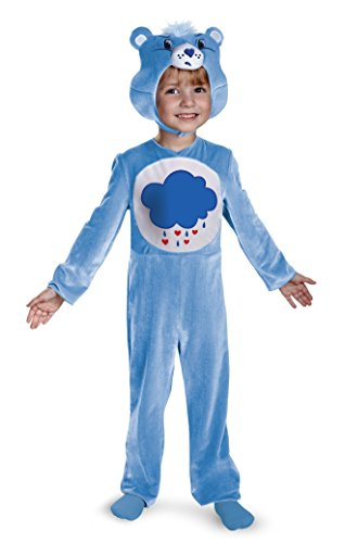 Care Bears Costume Toddler (Disguise Care Bears Grumpy Bear Classic Costume, Light Blue/White, 12-18 Months)