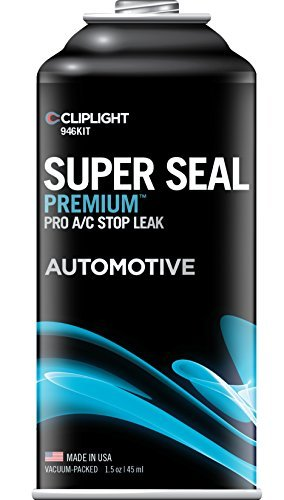 (Cliplight 946KIT Super Seal Premium A/C Stop Leak (Permanently Seals & Prevents Leaks in Auto A/C Systems) by Cliplight)