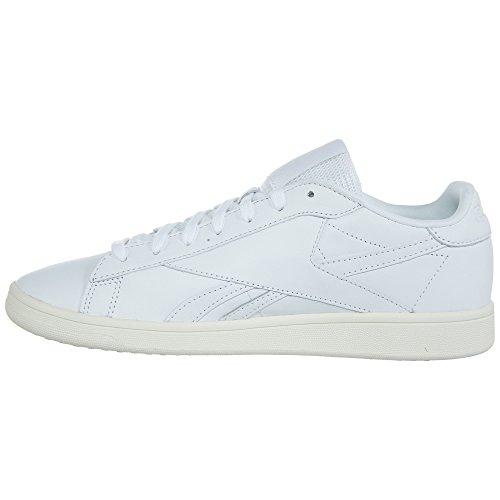 Reebok Womens Npc Uk Lthr Track Shoe Bianco / Gesso