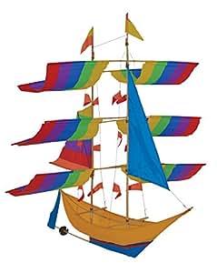 In the Breeze Colorful Ship Bali Kite